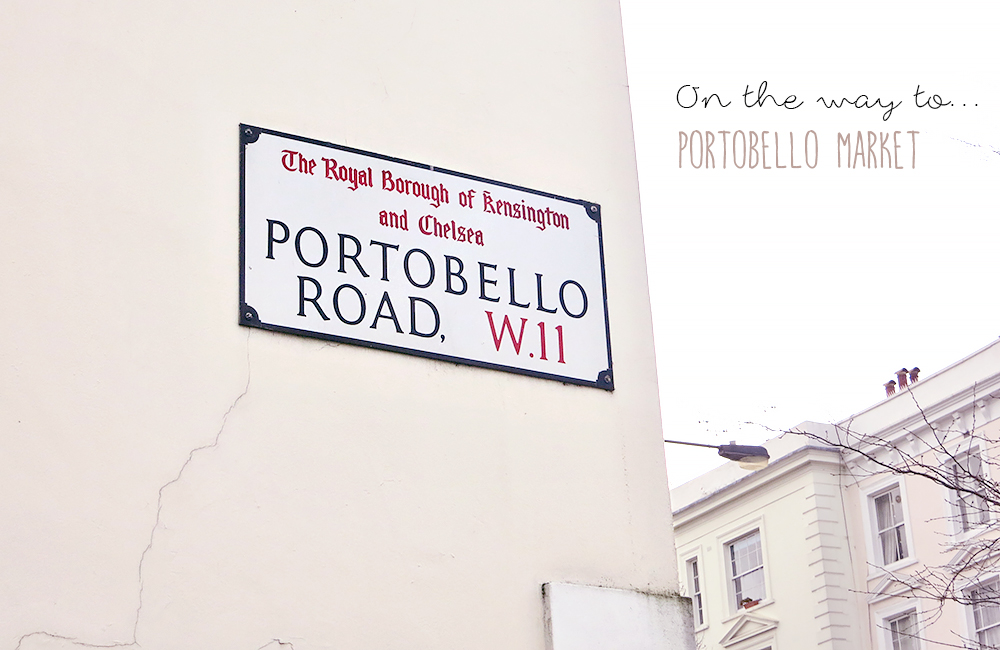 London Notting Hill Portobello Road Market
