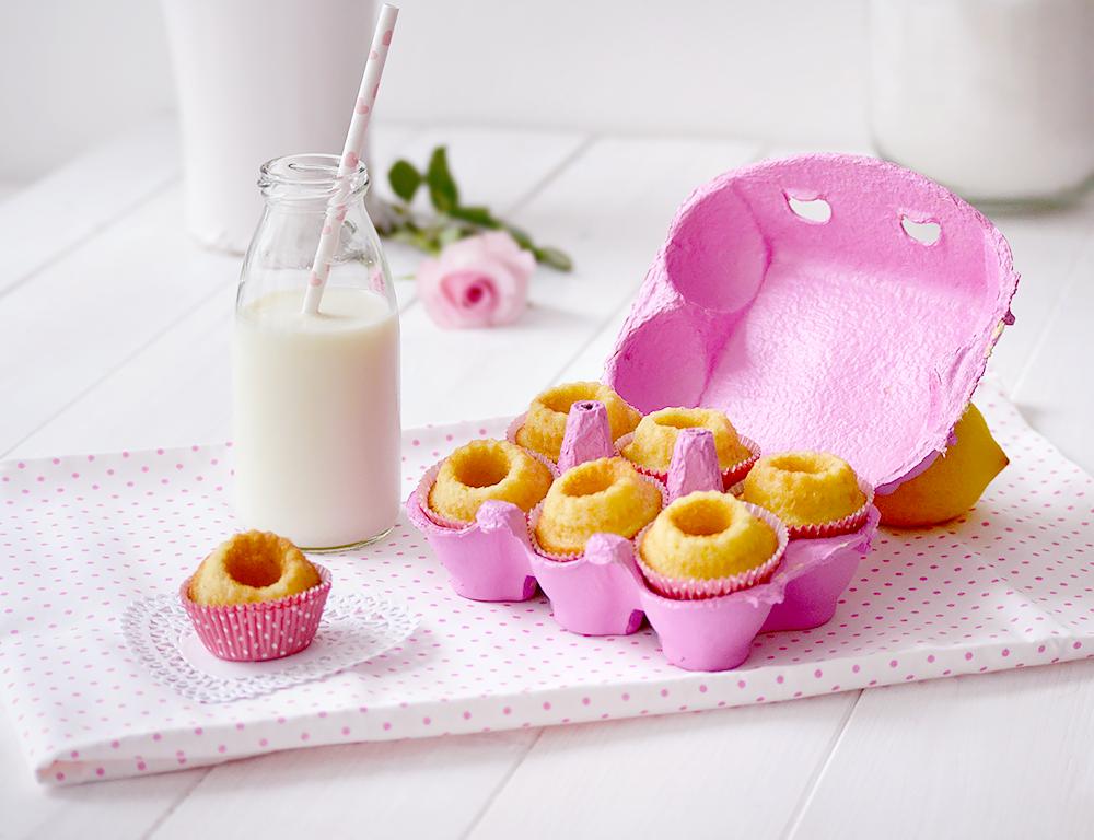 Zitronen Mini Gugl Rezept DIY Oster Geschenk