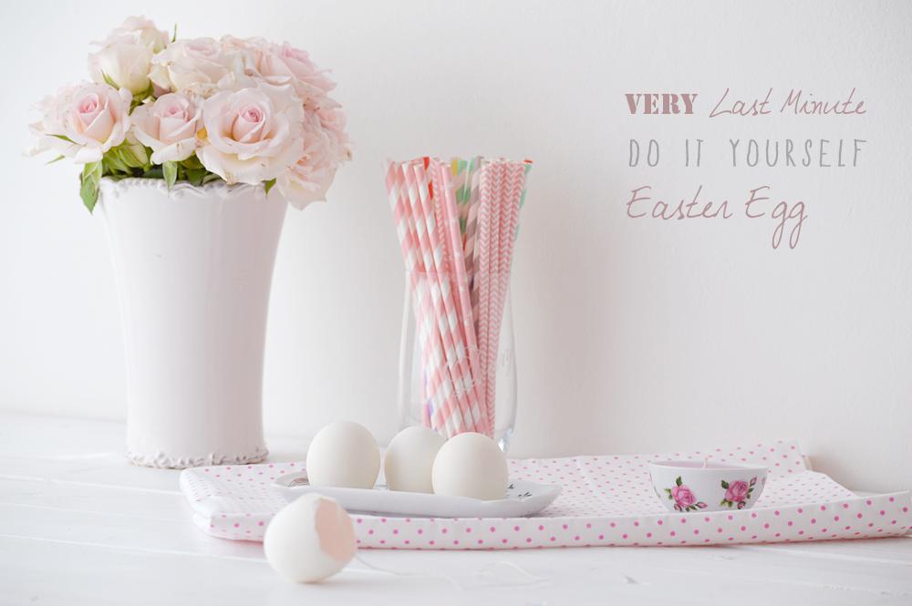 Diy Oster eier dekorieren last minute