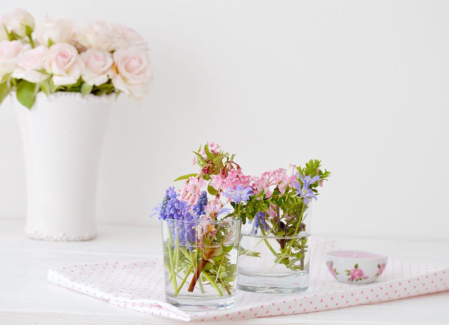 Diy Oster eier dekorieren last minute mit Blumen