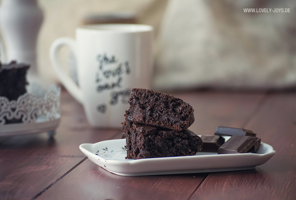 Vegan Brownie Rezept mit Avocado