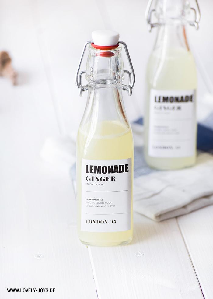 Rezept Ginger Beer Limonade