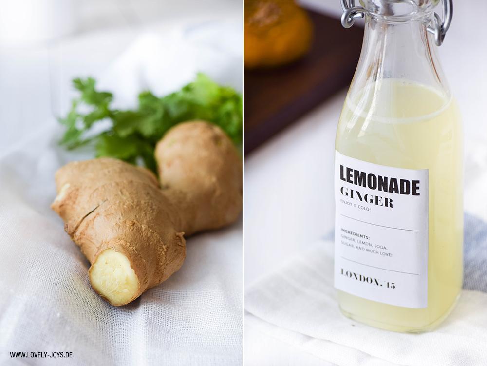 Rezept Ginger Beet Limonade