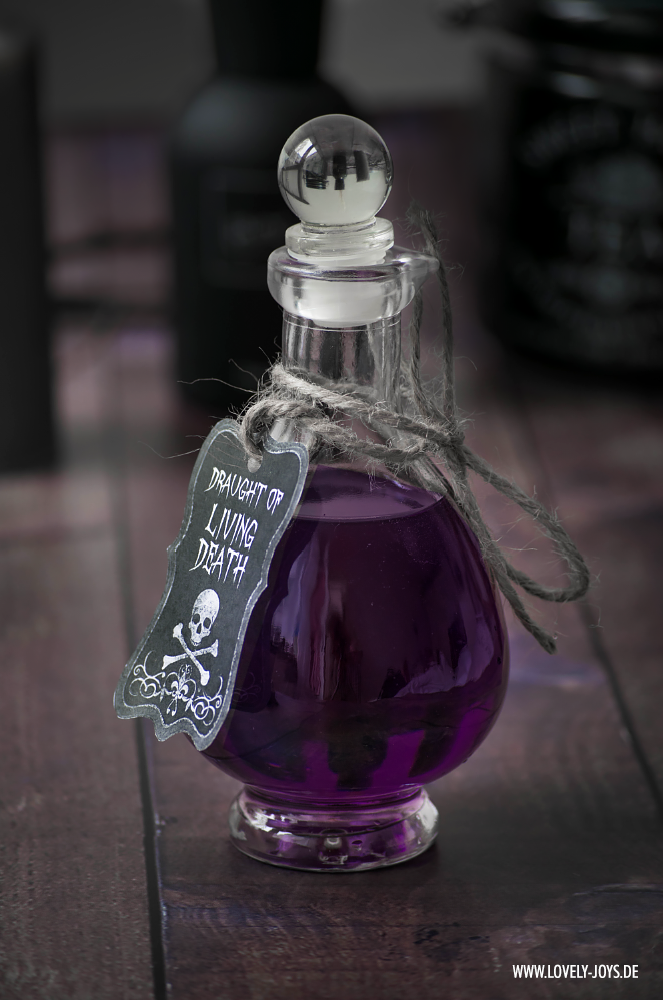 Harry Potter Trank Gift Halloween Rezept Idee Dekoration