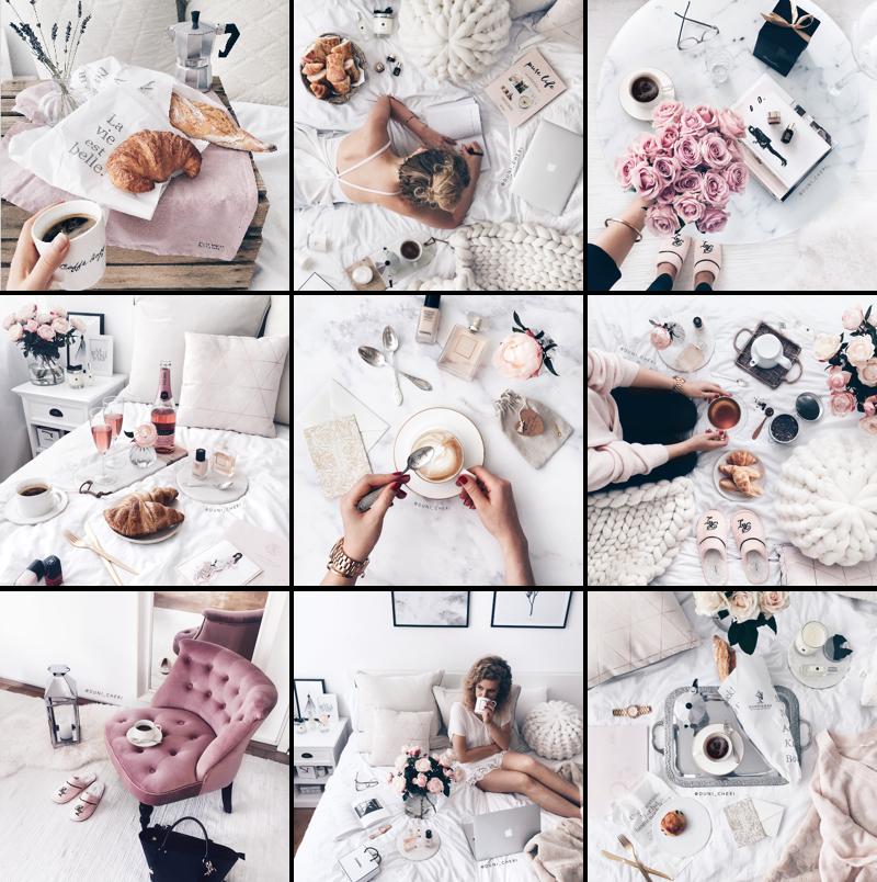 Instagram Feed Rosa Alltag