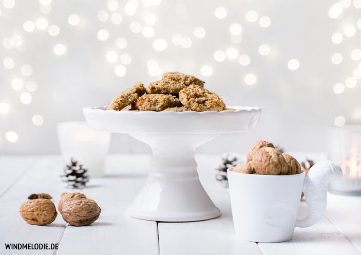 Vegan Haferflocken Kekse Rezept Eichhörnchen Tasse