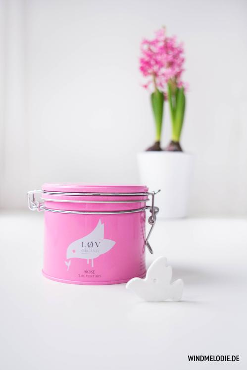 Lov Organic Rose Tee rosa dose