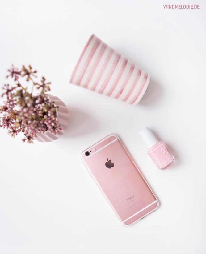 iphone rose gold essi nagellack rosa tinek tasse streifen
