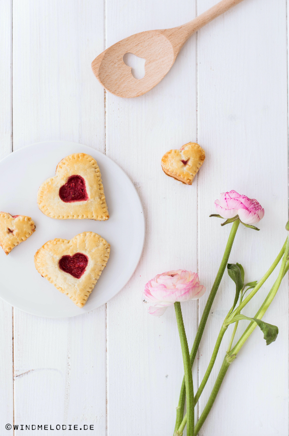 Mini Herz Kuchen Valentinstag Idee Rezept