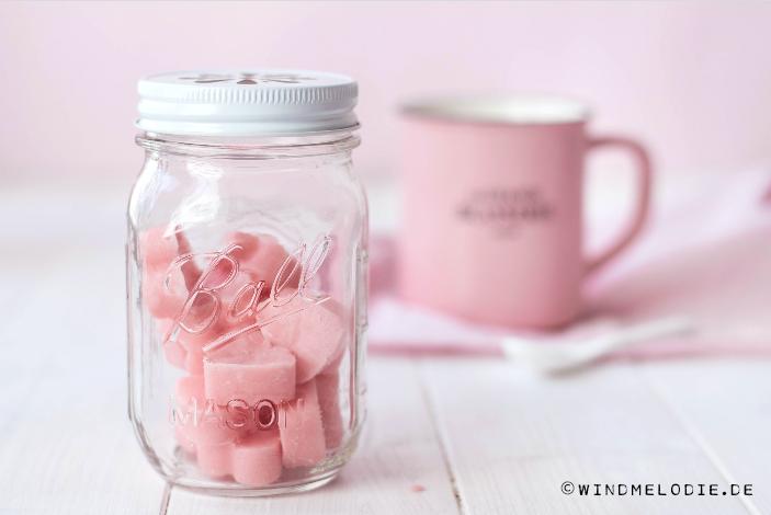Valentinstag DIY Geschenkidee im Glas