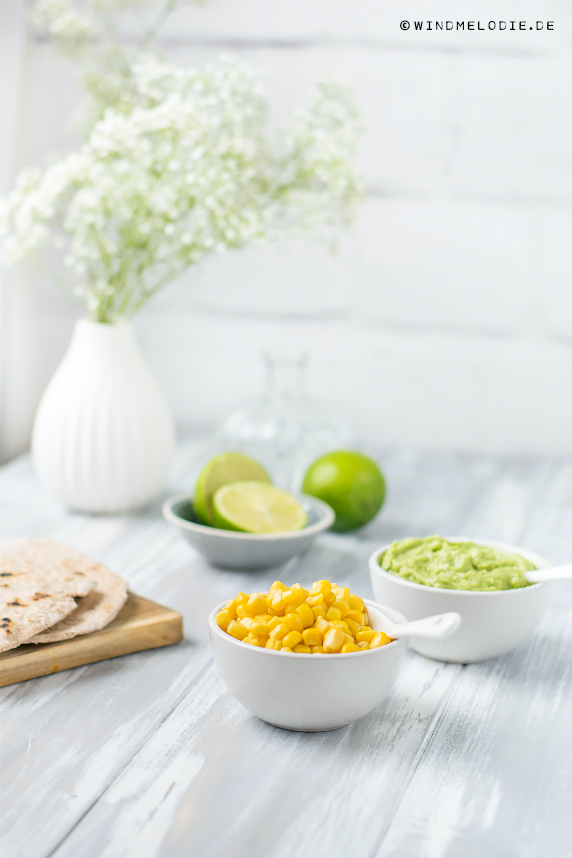 Maiskörner Tortilla Rezept vollkorn