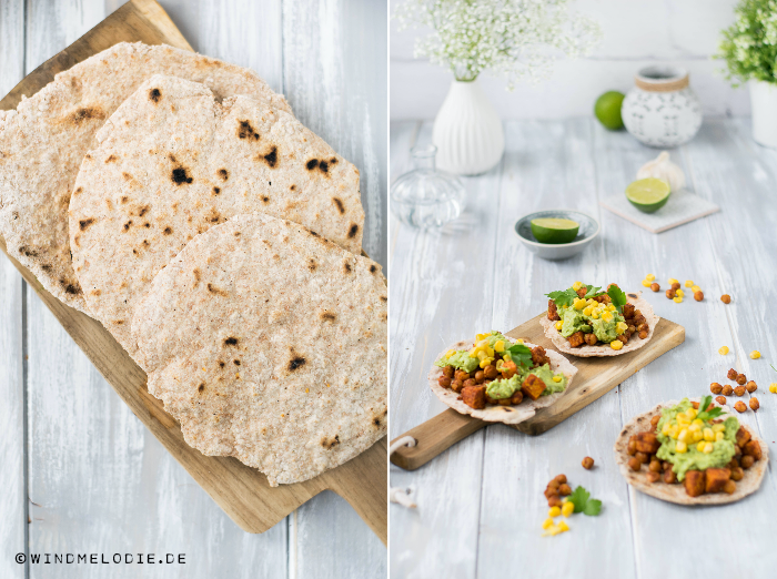 rezept vollkorn tortillas vegan mit kichererbsen s kartoffeln. Black Bedroom Furniture Sets. Home Design Ideas