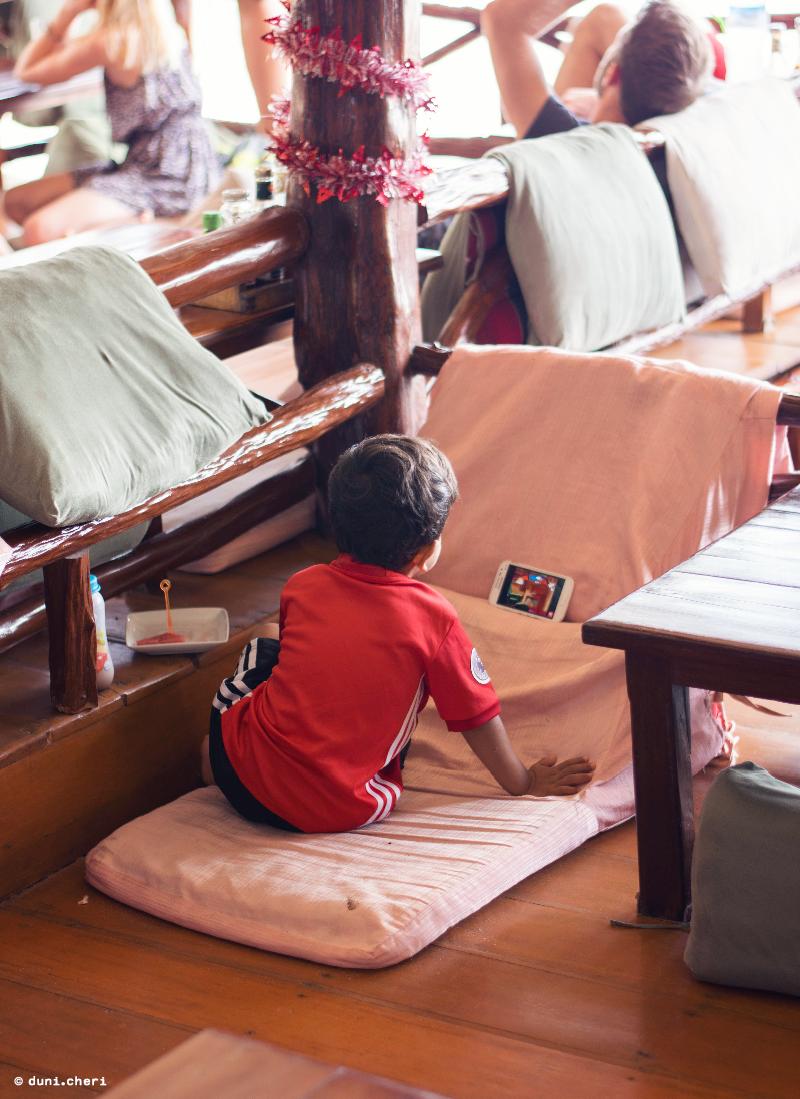 kleiner junge thailand insel Koh Pha Ngan