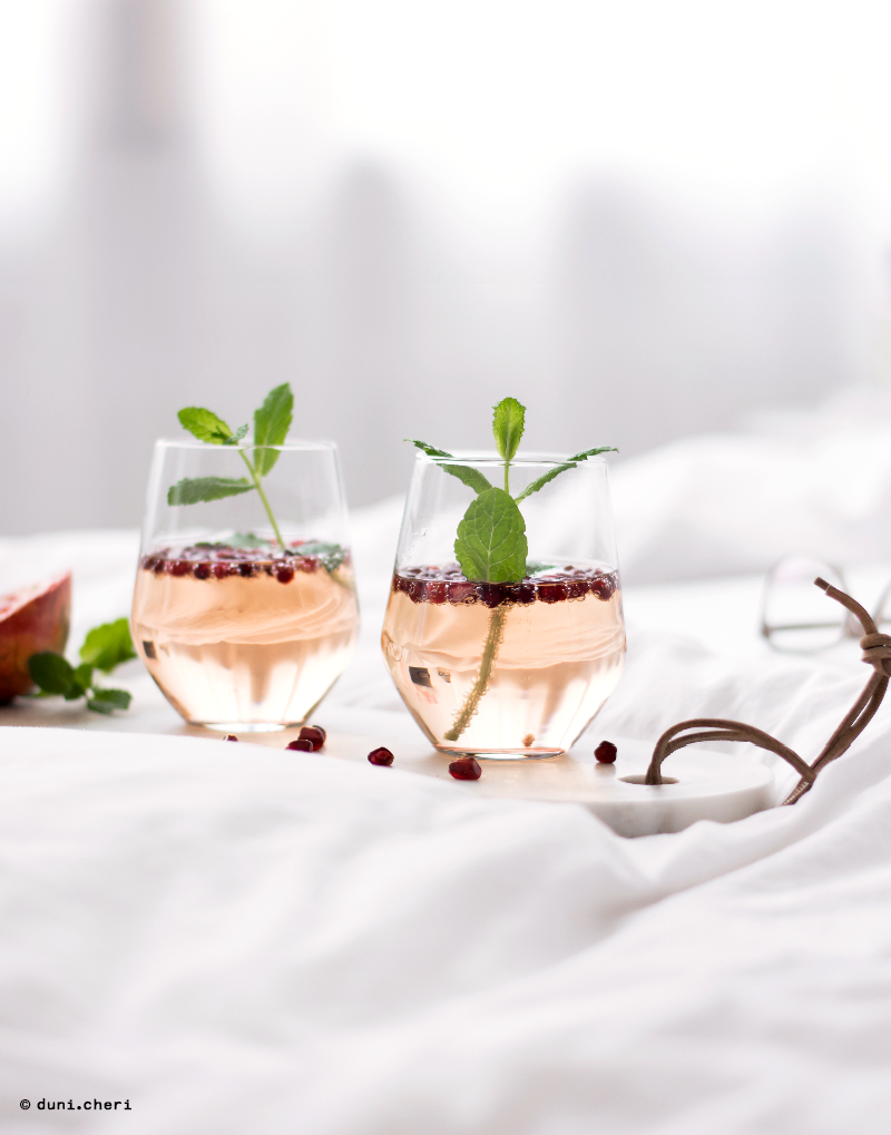 granatapfel rezepte trinken alkohol