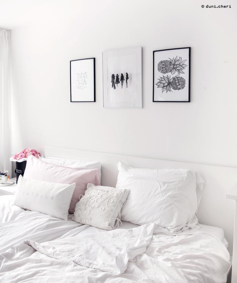 schlafzimmer wiess skandinavisch deko ideen
