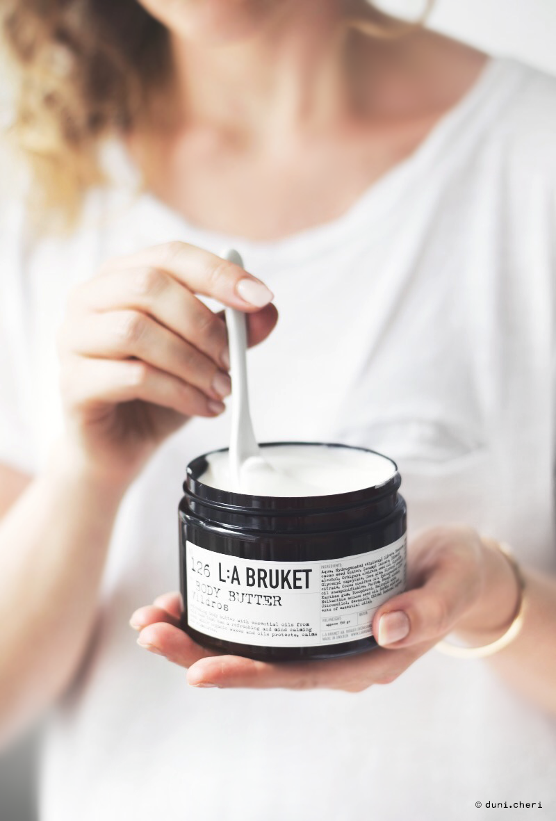 la bruket body butter wildrose