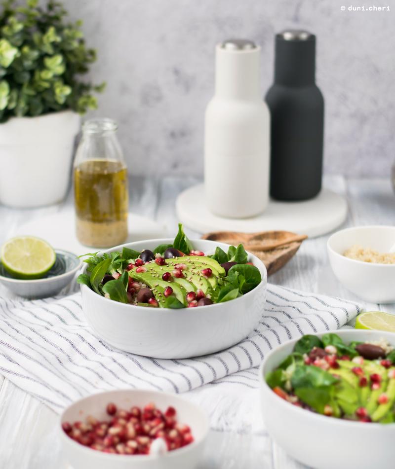 low carb quinoa salat rezept lowcarb