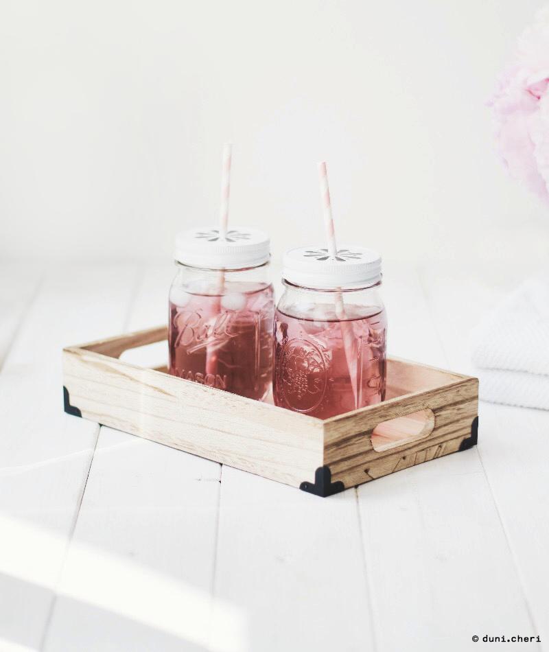 rosen limonade selber machen