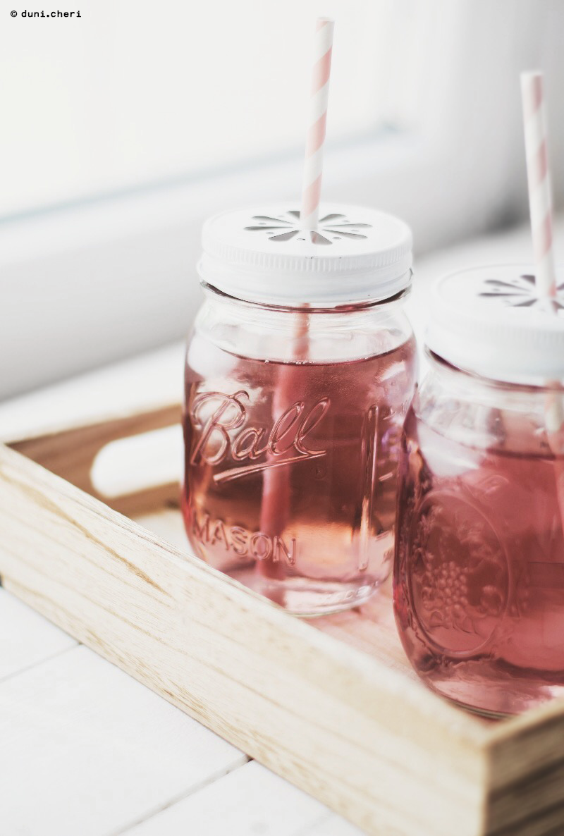 rosenlimonade ball mason jar