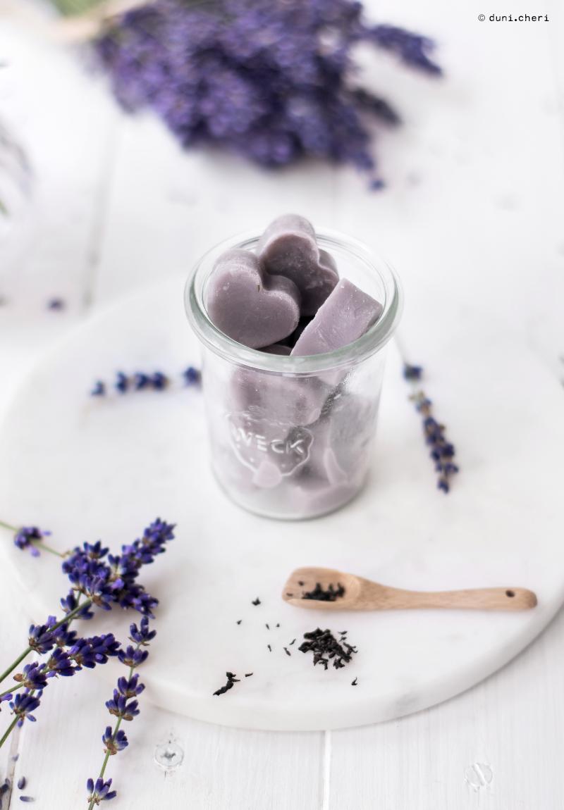 lavendel earl grey herzen vegan