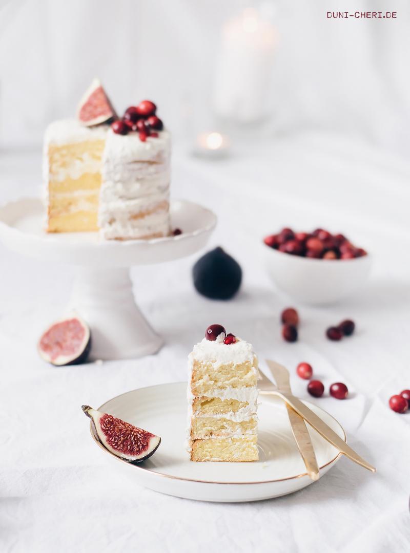 buttercreme biskuit naked cake torte herbst