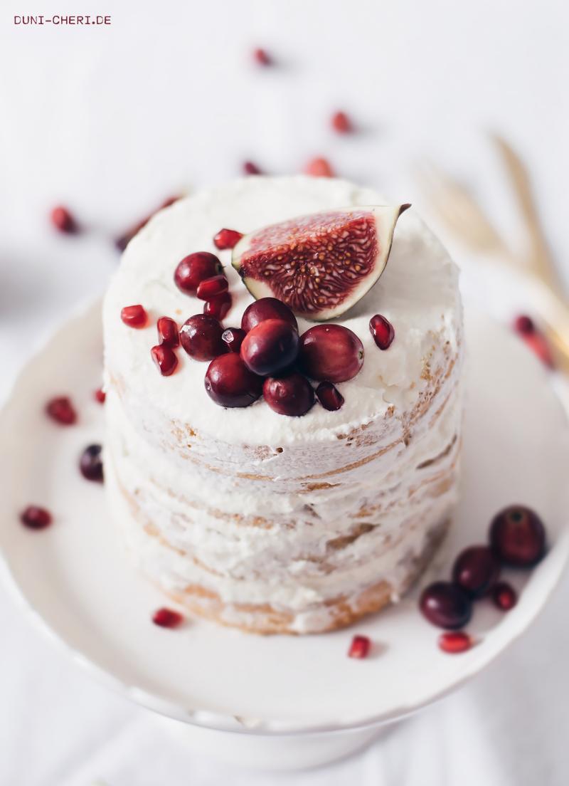 herbstliche biskuit torte rezept