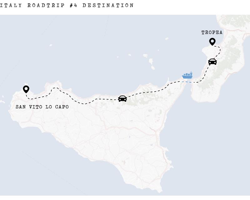 Got Karte Norden.Sizilien Tipps Roadtrip Von Italien Nach San Vito Lo Capo