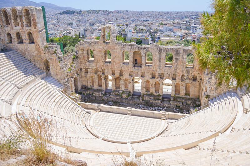 Griechenland Akropolis Stadion