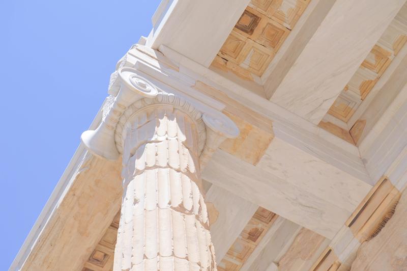 Griechenland Akropolis Säulen