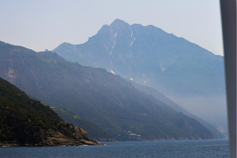 Griechenland Berg Athos