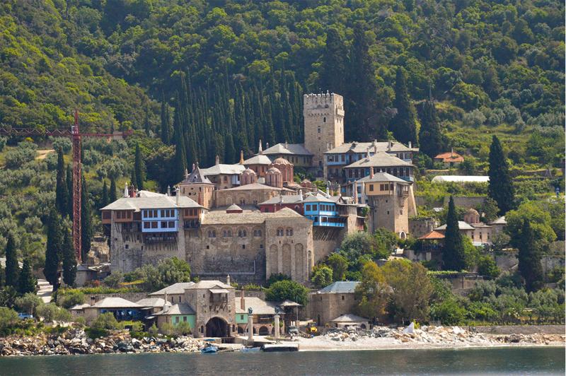 Griechenland Athos Mönchsrepublik