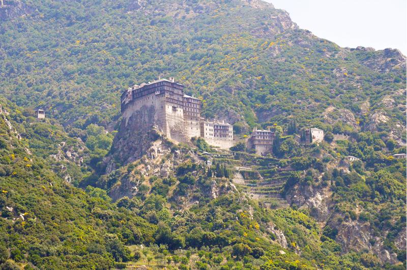 Griechenland Athos Mönchsrepublik Kloster