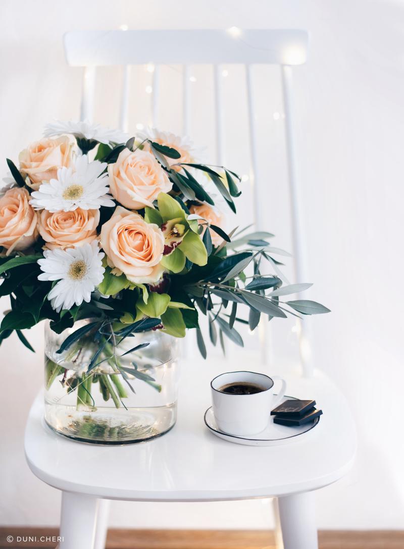 Blumenstrauss Rose Gerbera