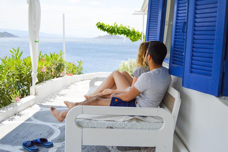 Haus in Griechenland am Meer