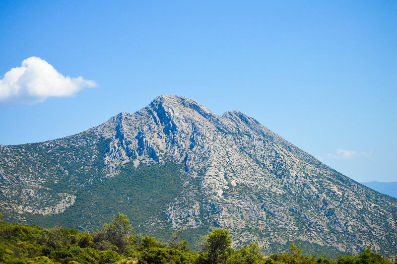 Griechenland Landschaft Berge