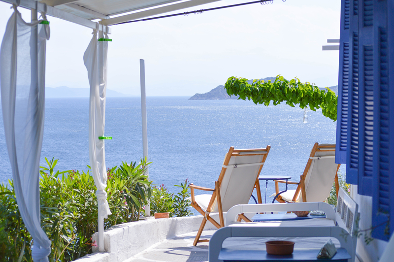 Griechenland Haus am Meer
