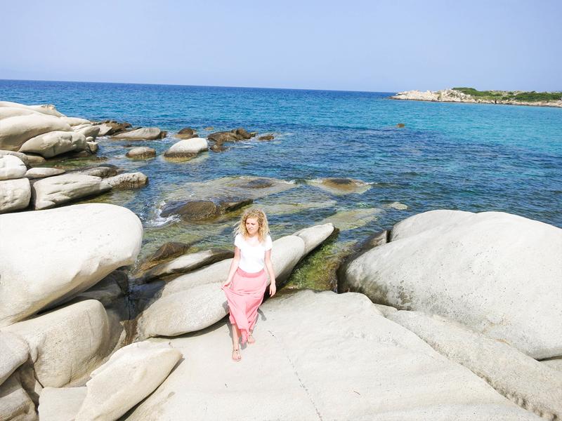 Karidi Strand in Griechenland