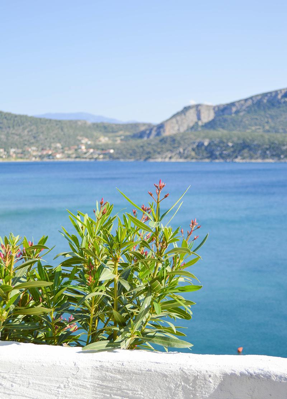 Griechenland Landschaft Meer
