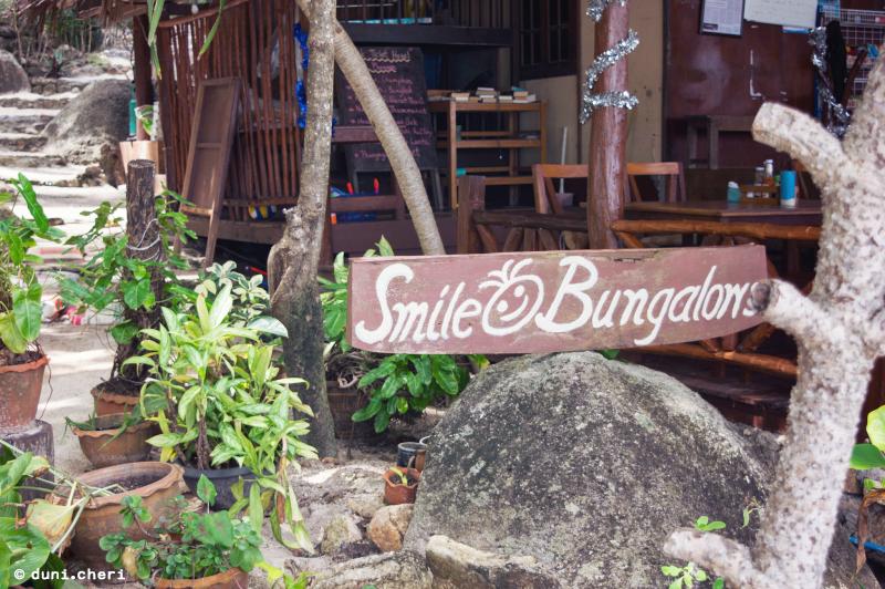 smile bungalows huette insel thailand