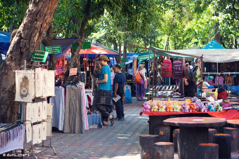thailand markt chiang mai