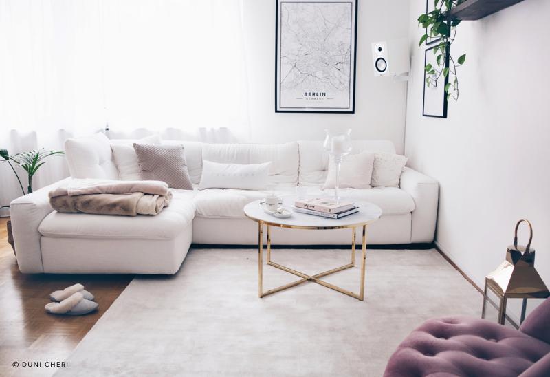 Interior Inspo: Wohnzimmer im Scandi-Chic Stil | Wohnideen