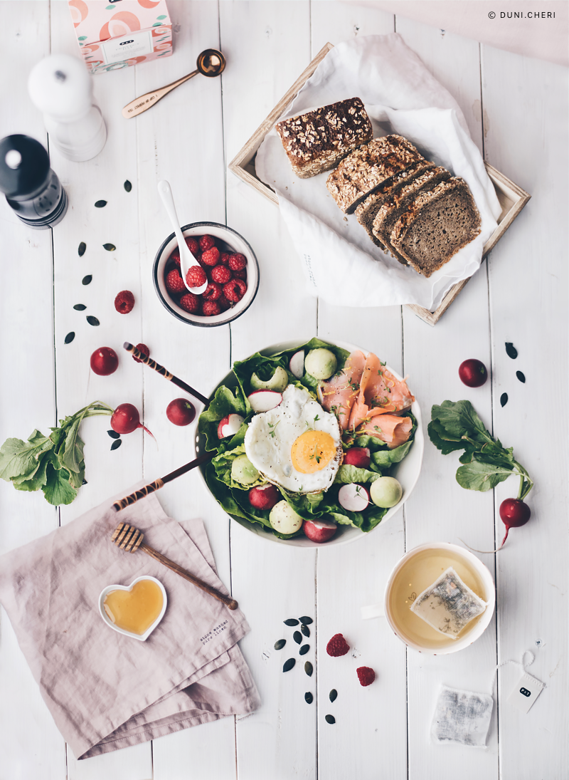 brunch bowl muttertag idee rezept