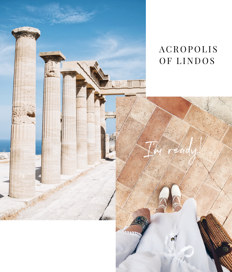 acropolis ruinen lindos