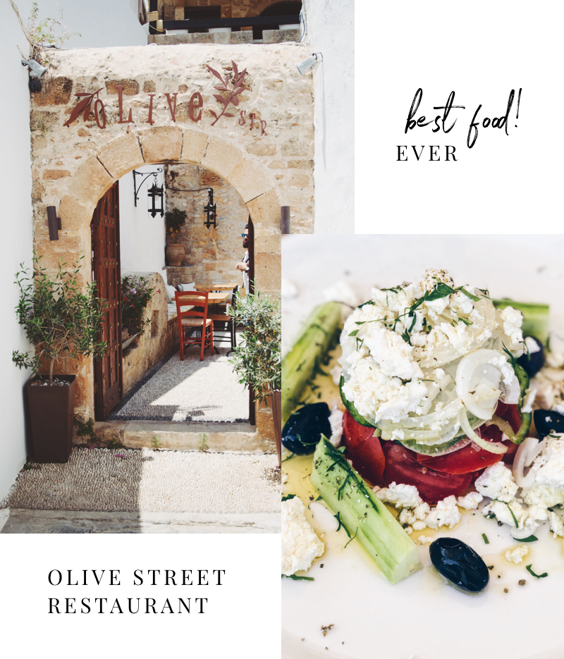 olive street restaurant lindos