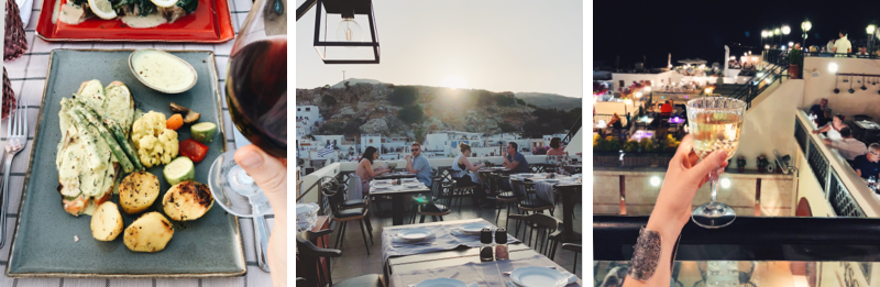 lindos restaurants tipps