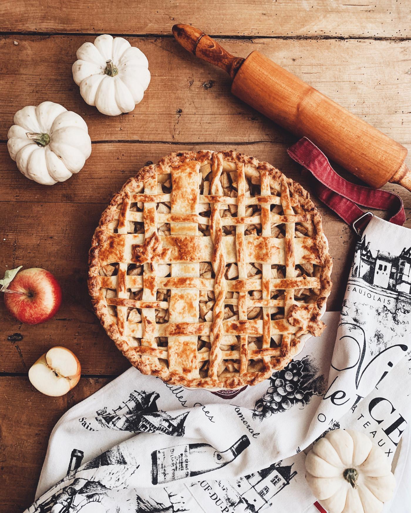 american apple pie rezept gitter kuchen