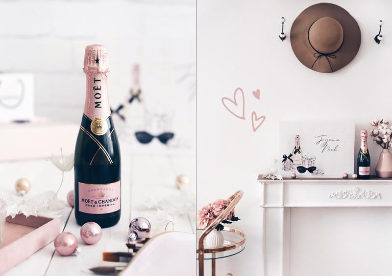 moet rose champagner adventskalender