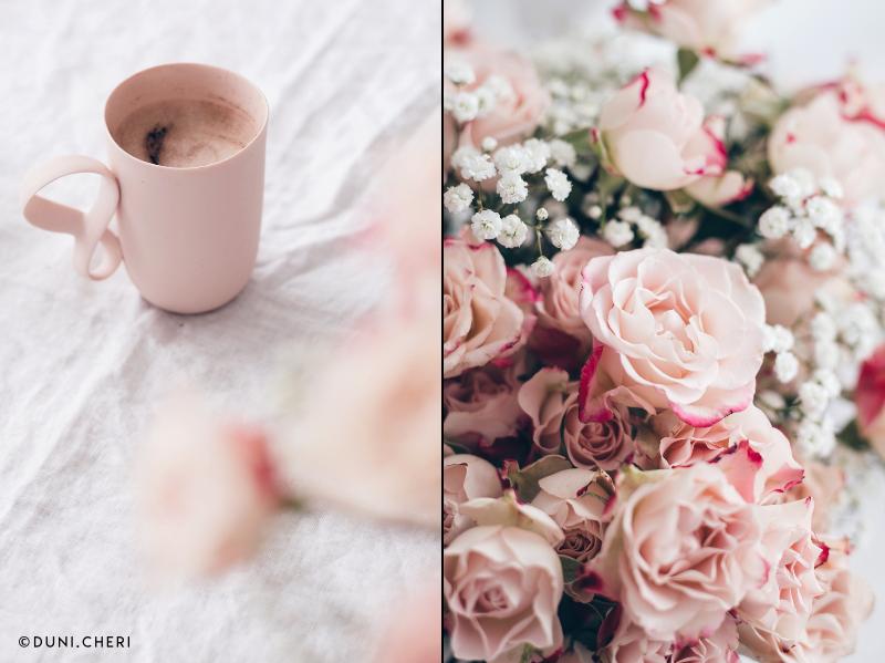 rosen tasse rosa