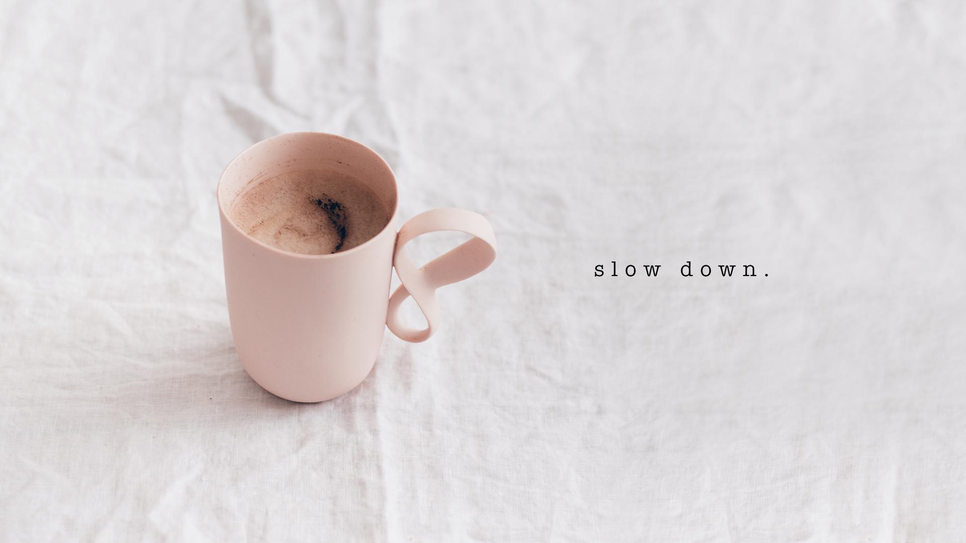 free desktop wallpaper coffee blush