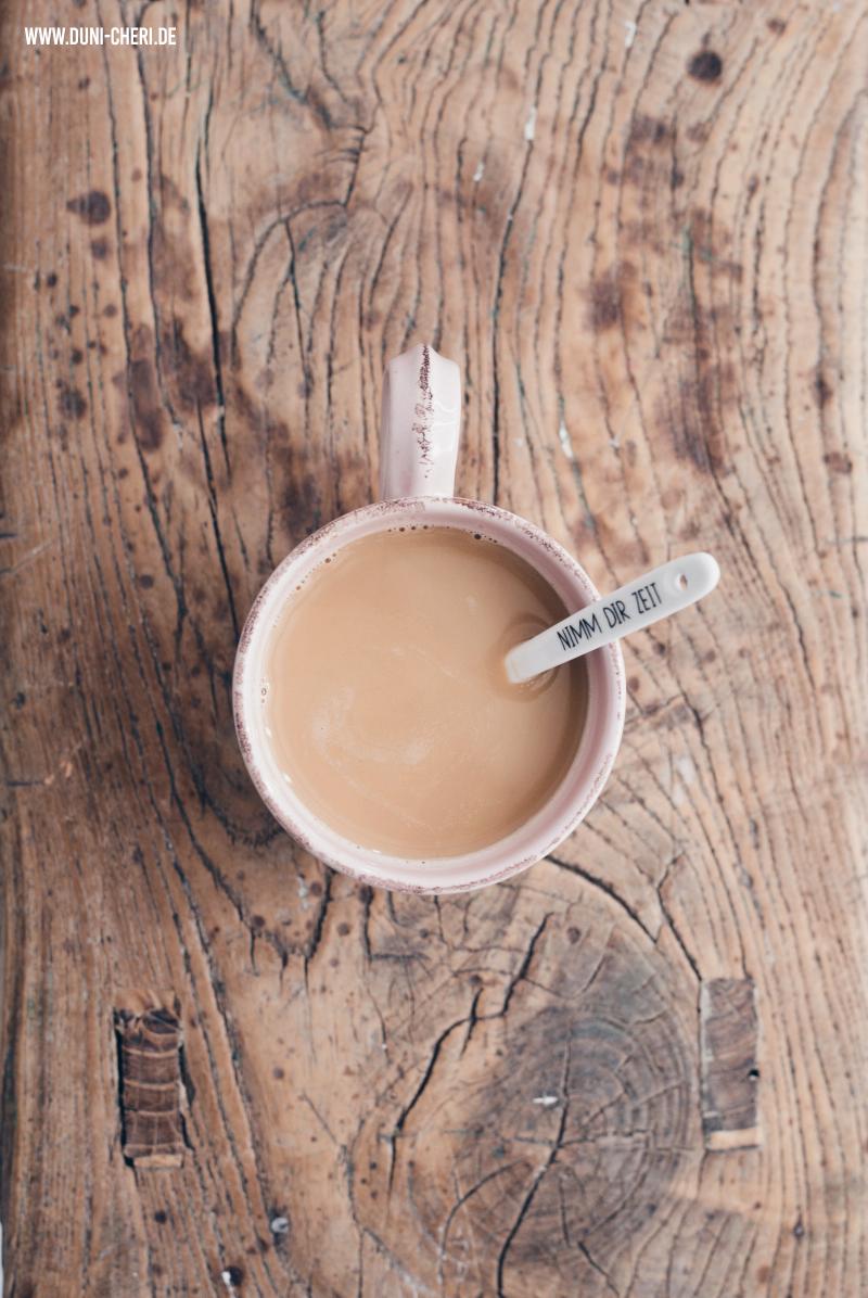 kaffee tasse von oben